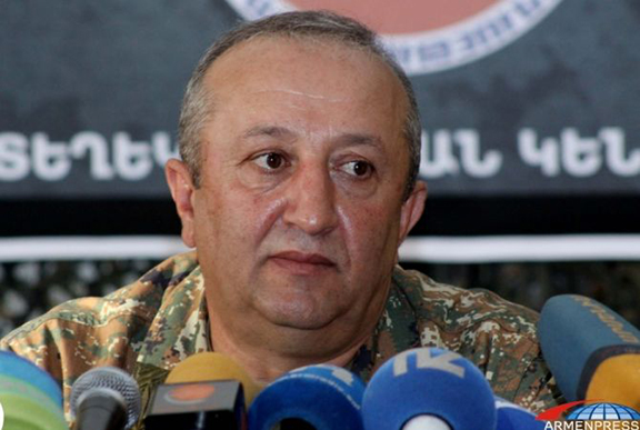 Deputy Chief Movses Hakobyan (Source: Armenpress)