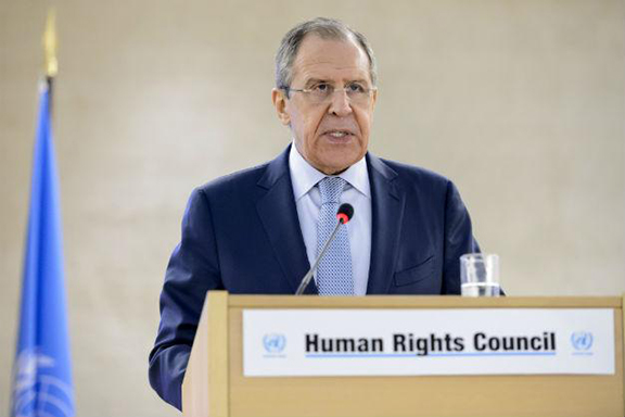Russian Foreign Minister Sergei Lavrov. (Source: AFP)