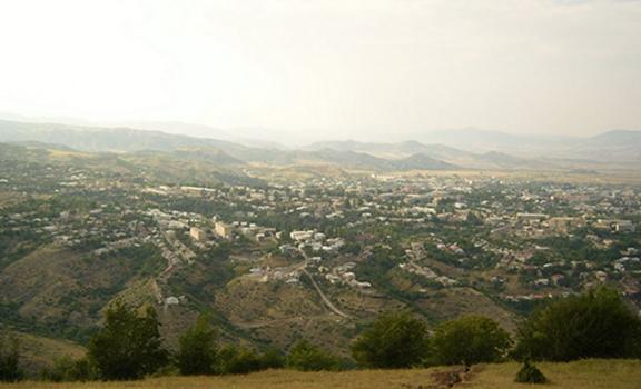 View of Stepanakert, Artsakh