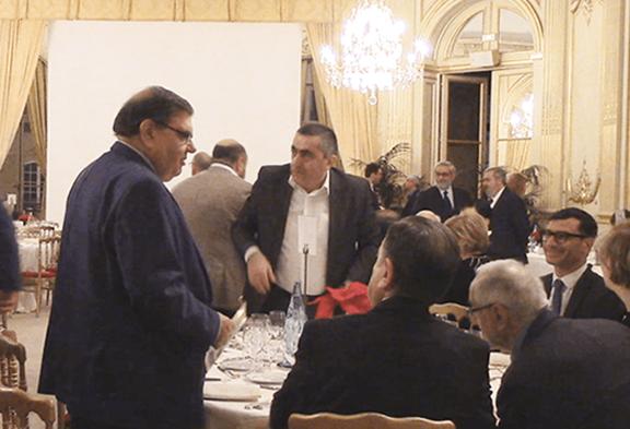 Attendees of a gala  dinner organized by the ARF Bureau, Hai-Tahd activities