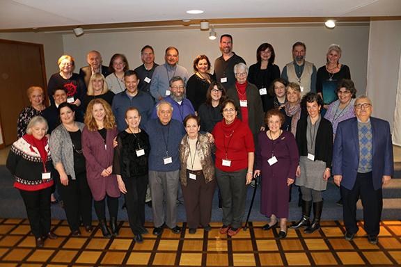 Descendants of Kharpert at an Armenian Genealogy conference in Detroit, 2017