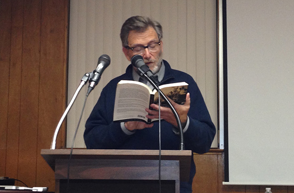 Dr. Keith David Watenpaugh during book presentation in 2016 (Photo: Marash Girl Blogspot)