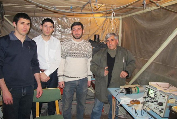 Physicists from Yerevan Physics Institute
