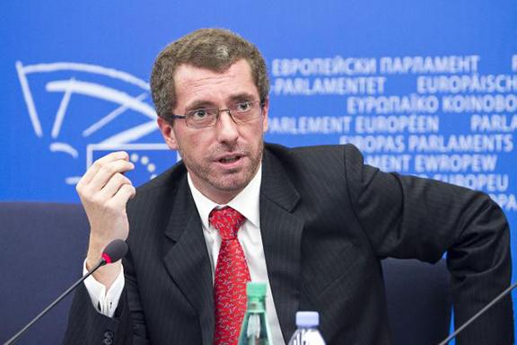 Member of European Parliament Frank Engel in 2010 (Photo: European People's Party Group)