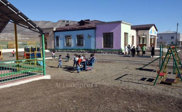 Ivanyan kindergarten in Artsakh's Askeran region (Photo: Artsakhpress)