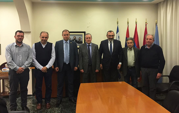Artsakh Republic Minister of Foreign Affairs Karen Mirzoyan on March 13 met with members of the ARF Central Committee of Greece in Athens (Photo: Ministry of Foreign Affairs of the Artsakh Republic)