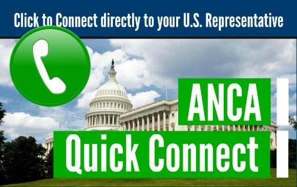"""The Armenian National Committee of America launched """"Quick Connect,"""" an automated calling system to directly dial members of congress"""