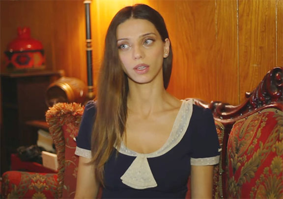 """The Promise"" star Angela Sarafyan"
