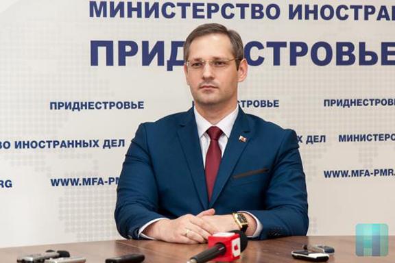 Vitaly Ignatyev, Foreign Minister of the Transnistrian Moldovan Republic (Source: Novosti Pridnestrovya)