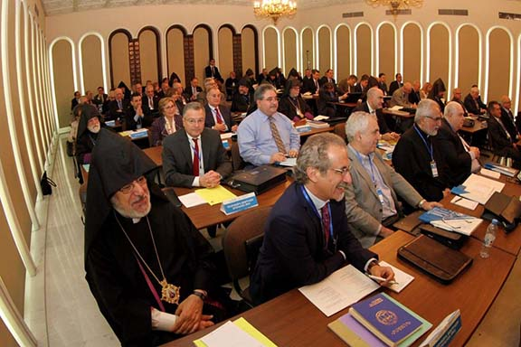 World National General Assembly of the Cilician Catholicosate is underway in Antelias, Lebanon