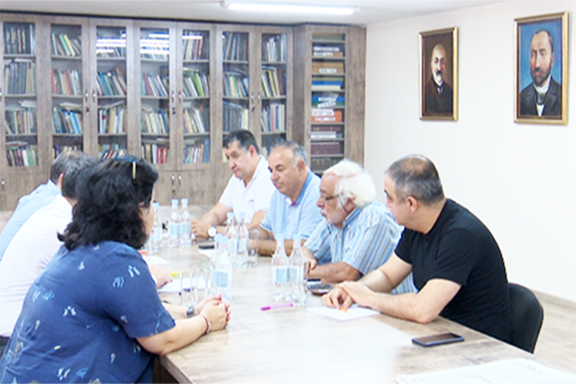 ARF Supreme Council of Armenia meets with Central Executive of Ramgavar party in Yerevan on June 24