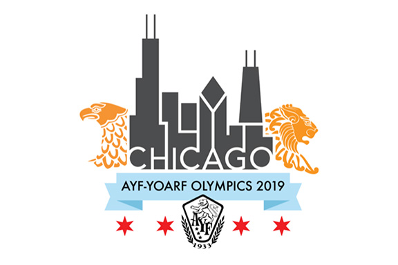 AYF Chicago Olympics will take place during Labor Day weekend, August 29 - September 2