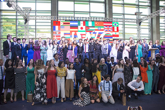 Scenes from the graduation of UWC Dilijan's 4th cohort of international students, on June 1