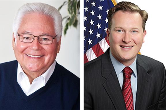 Senators Bob Archuleta and Andreas Borgeas