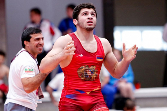 Junior European Wrestling Champion Malkhas Amoyan