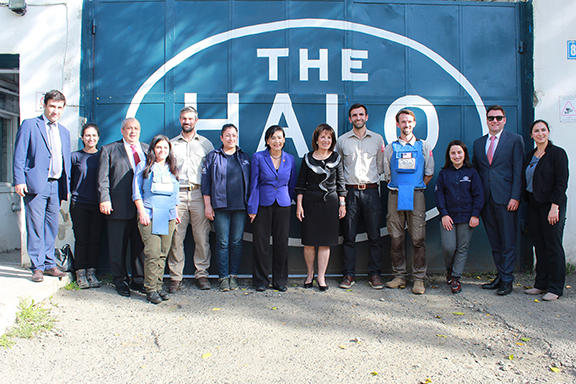 VIEW GALLERY: Representatives Jackie Speier and Judy Chu visit the Halo Trust and learn about mission and activities