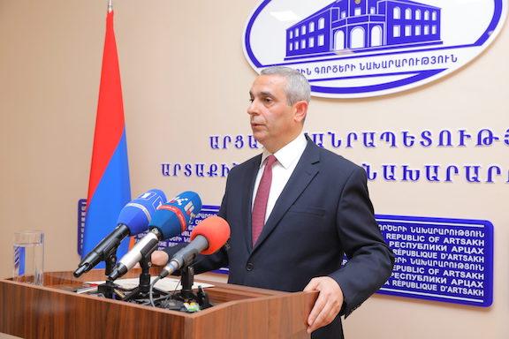 Artsakh Foreign Minister Masis Mayilyan