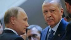 Russian President Vladimir Putin and his Turkish counterpart Recep Tayyip Erdogan