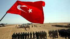 Turkish forces stationed in Azerbaijan (Kommersant Photo)