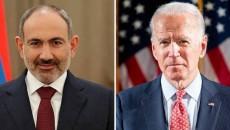 Prime Minister Nikol Pashinyan congratulated President-Elect Joseph Biden on his election