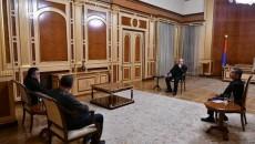 President Armen Sarkissian met with  ARF leaders on Nov 10
