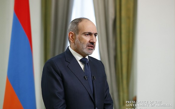 Prime Minister Nikol Pashinyan addressed the nation on Nov. 12