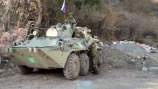 Russian peacekeepers stationed in Artsakh (Photo by Dickran Khodanian)