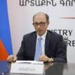 Armenia's Foreign Minister Ara Ayvazyan