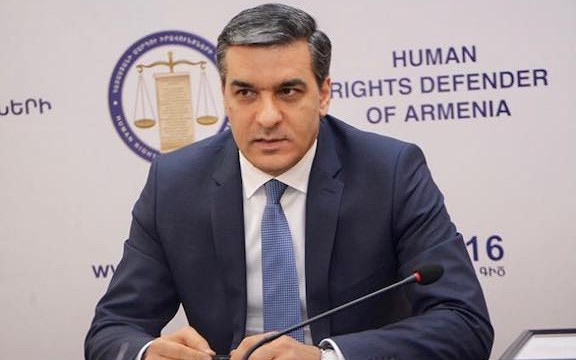 Armenia's Human Rights Defender Arman Tatoyan