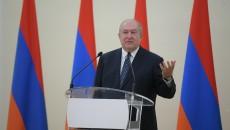 President Armen Sarkissian