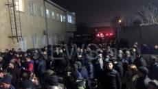 Anxious family members gather at Yerevan's Erebuni Airport awaiting the return of their loved ones from Azerbaijani captivity