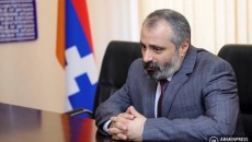 Artsakh Foreign Minister David Babayan