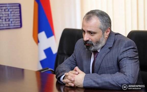 Artsakh Foreign Minister David Babayan