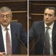 Gagik Jahangiryan (left) and Davit Khachaturyan were installed as new members of Armenia's Supreme Judicial Council