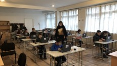Students from Armenia's Syunik region