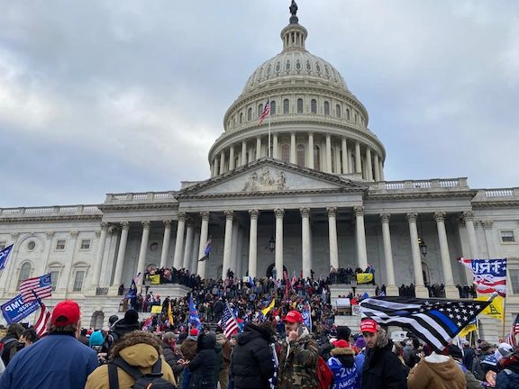 Incited rioters stormed the U.S. Capitol on Jan. 6