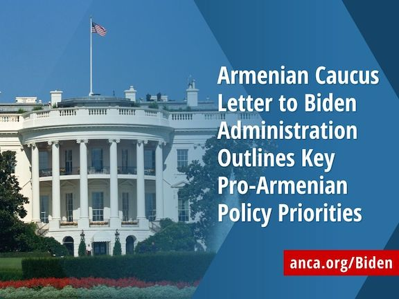 ANCA launched a campaign to secure Biden Administration's support to Armenia and Artsakh
