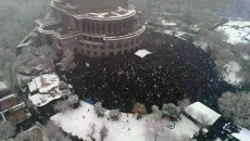VIEW GALLERY: Thousands gather at Liberty Square on Feb. 20 for a protest organized by the Homeland Salvation movement