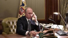 "Russian President Vladimir Putin spoke to Prime Minister Nikol Pashinyan on Feb. 25 and urged ""restraint"""