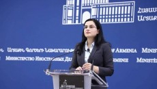 Armenia's Foreign Ministry spokesperson Anna Naghdalyan