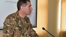 Chief of Staff of Armenia's Armed Forces General Onik Gasparyan