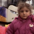 A young girl from Artsakh returns to Stepanakert after the ceasefire