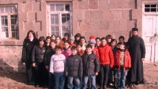 Students at the Dzovinar Christian Education Center in Ghegharkounik Province