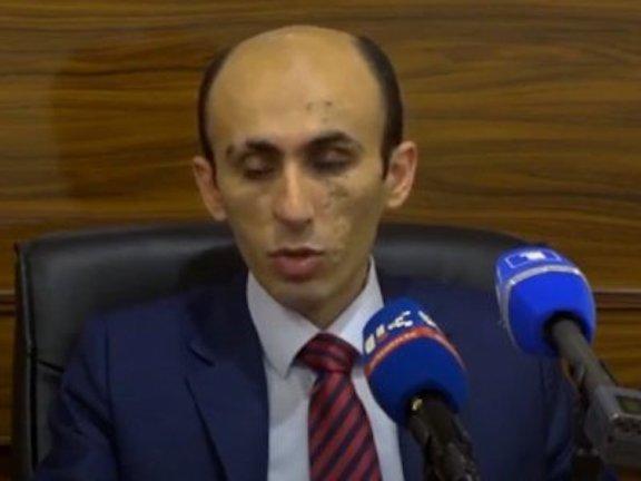 Artsakh Presidential Chief of Staff Artak Beglaryan