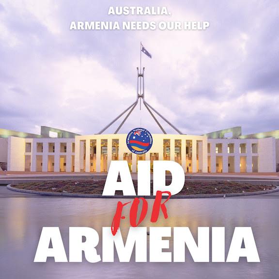 Australia ANC Requests Federal Government aid for Armenia