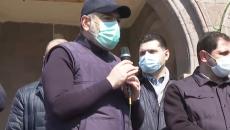Prime Minister Nikol Pashinyan in Armavir on March 28
