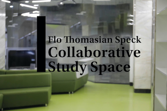 """VIEW GALLERY: The American University of Armenia's """"Flo Thomasian Speck Collaborative Study Space"""""""