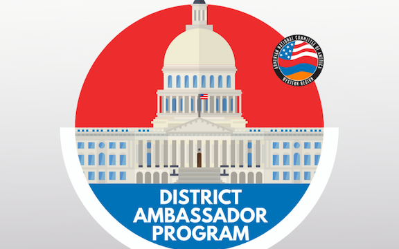 "ANCA-WR launched its ""District Ambassador Program"""