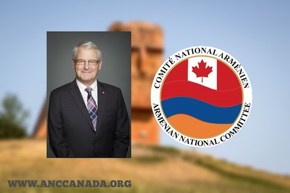 ANC Canada urged the country's foreign minister to ban arms sales to Turkey, Azerbaijan