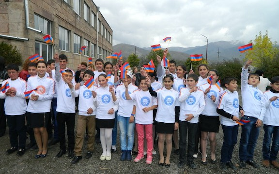Children in Armenia who have beneficiaries of AEF's allocations